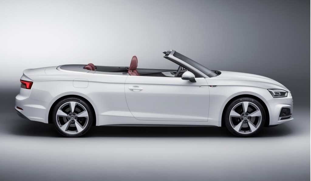 Image 2018 Audi A5 Cabriolet Size 1024 X 597 Type Gif