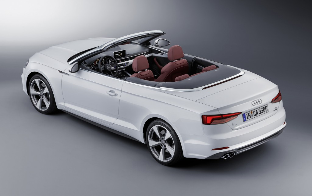 Image 2018 Audi A5 Cabriolet Size 1024 X 643 Type Gif