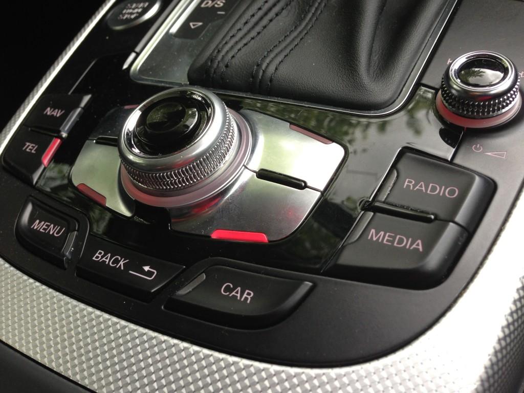Audi MMI controller  -  2013 Audi Allroad