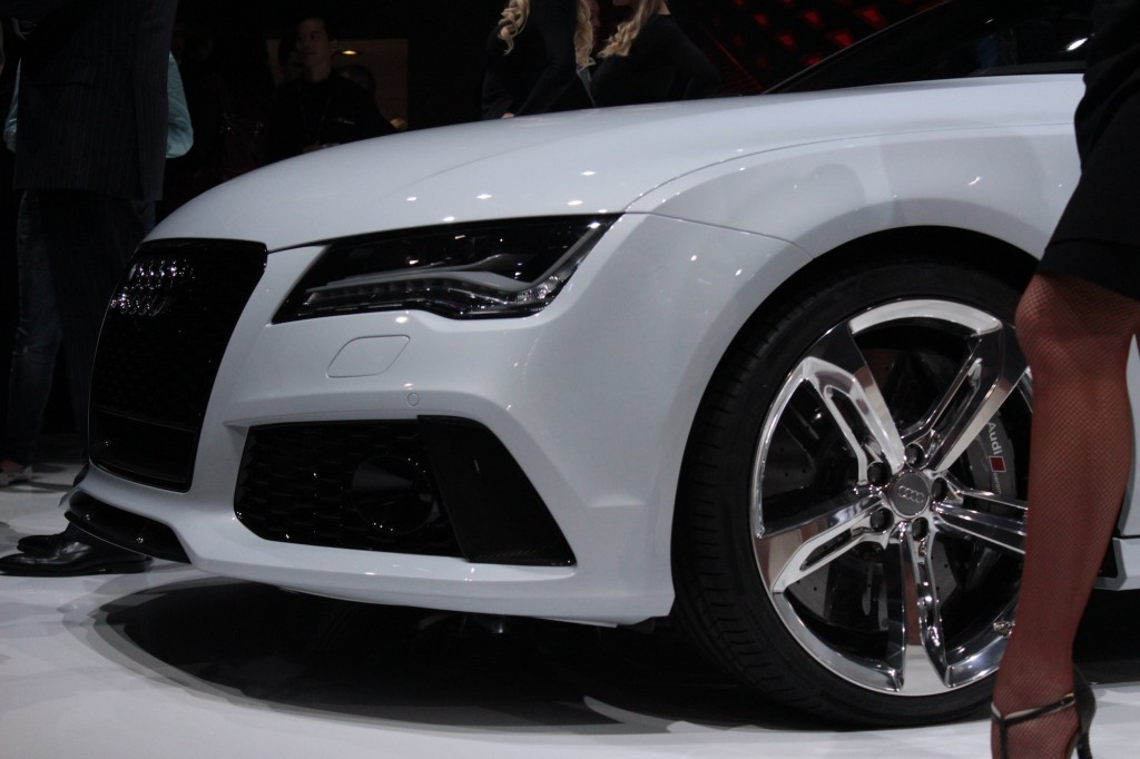 2014 Audi RS 7 live photos, 2013 Detroit Auto Show