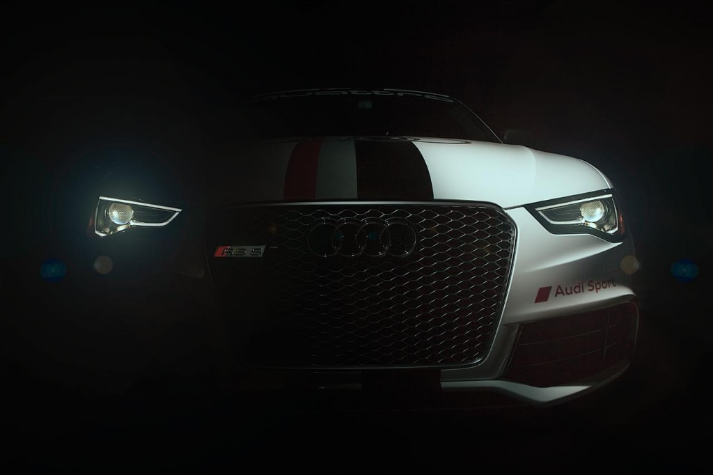 Audi RS5 teaser for 2012 Pikes Peak International Hill Climb