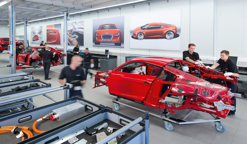Image Audi E Tron Neckarsulm Development Center Size 1024 X 600 Type Gif Posted On May