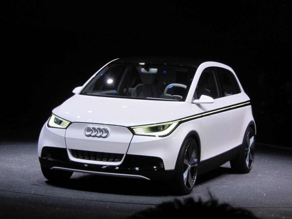 Audi A2 Concept, Frankfurt Motor Show, September 2011