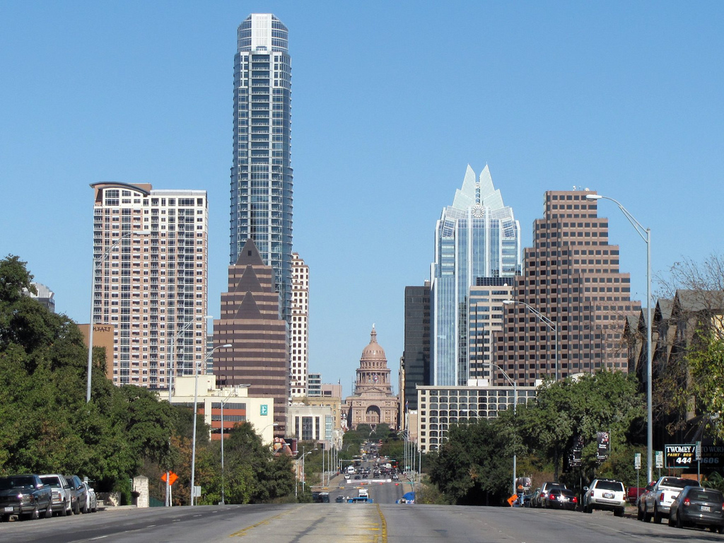 Austin, Texas (by Flickr user milpool79 via Wikimedia)