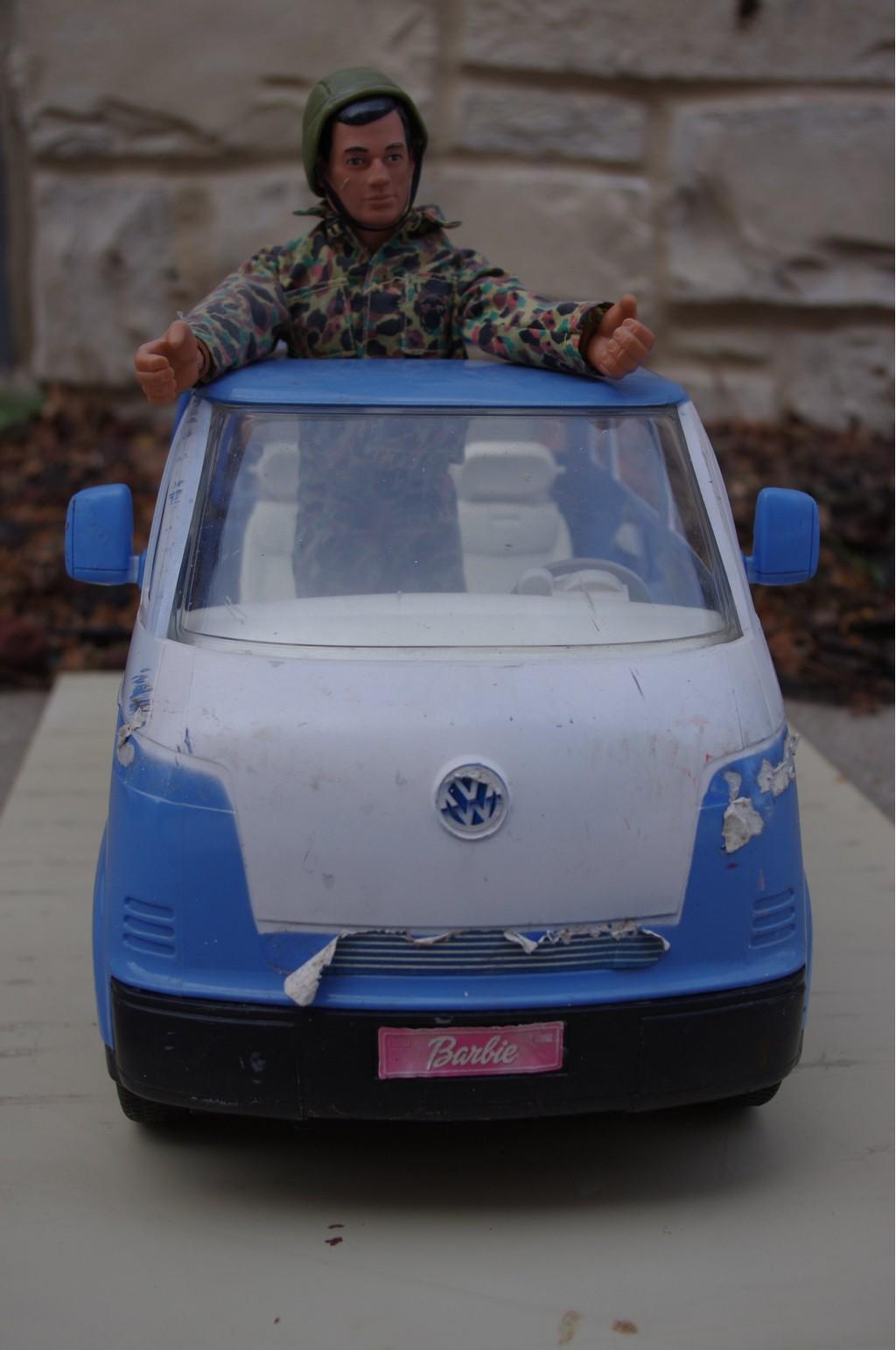 Barbie's Bus, GI Joe Not Included