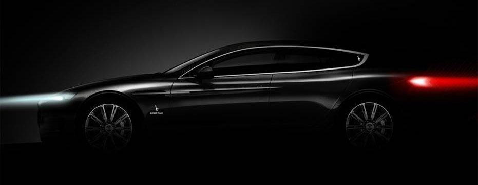 Bertone's teased concept for the 2013 Geneva Motor Show