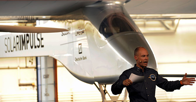 Bertrand Piccard and the 'Solar Impulse'