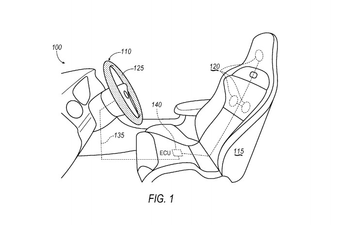 Biometric driver identification system, patented by Ford (application #20140285216)