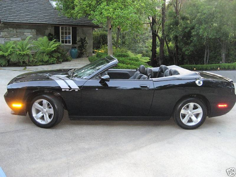 ebay 2009 dodge challenger r t convertible by newport specialty cars. Black Bedroom Furniture Sets. Home Design Ideas