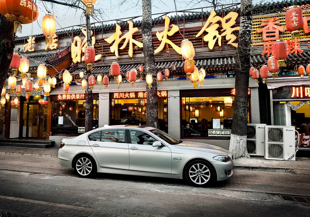 BMW 5-Series in China