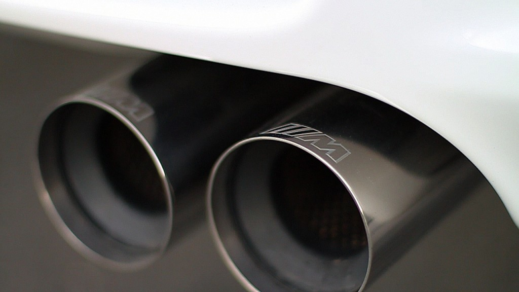 BMW M3 M Performance exhaust