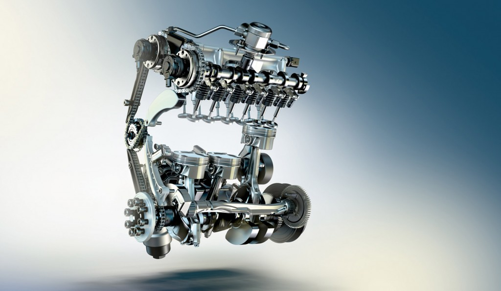 BMW turbocharged 1.5-liter three-cylinder engine