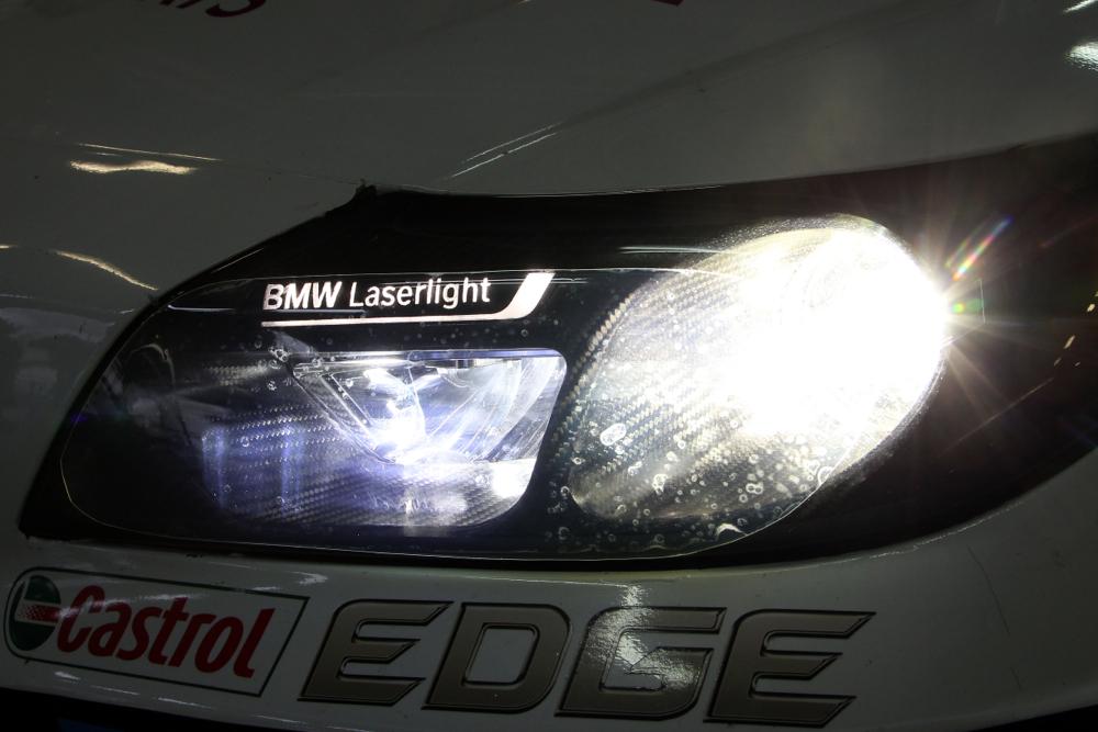 BMW Laser Headlights To Make Motorsports Debut At Nrburgring 24