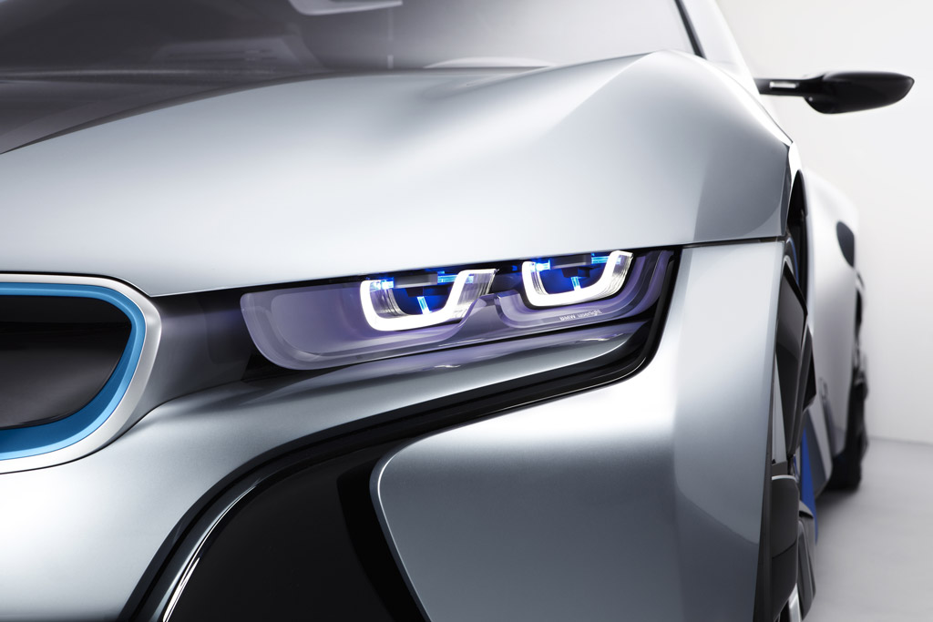 BMW laser headlights