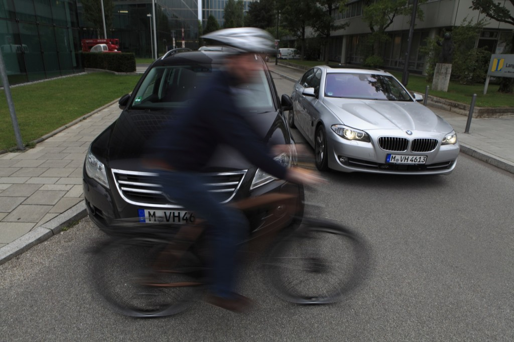 BMW's UR:BAN project looks to improve city traffic safety