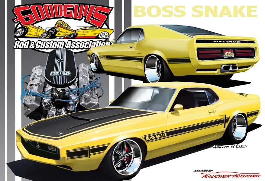 Goodguys to Giveaway 1970 Boss Snake Mustang as 2010 Grand Prize
