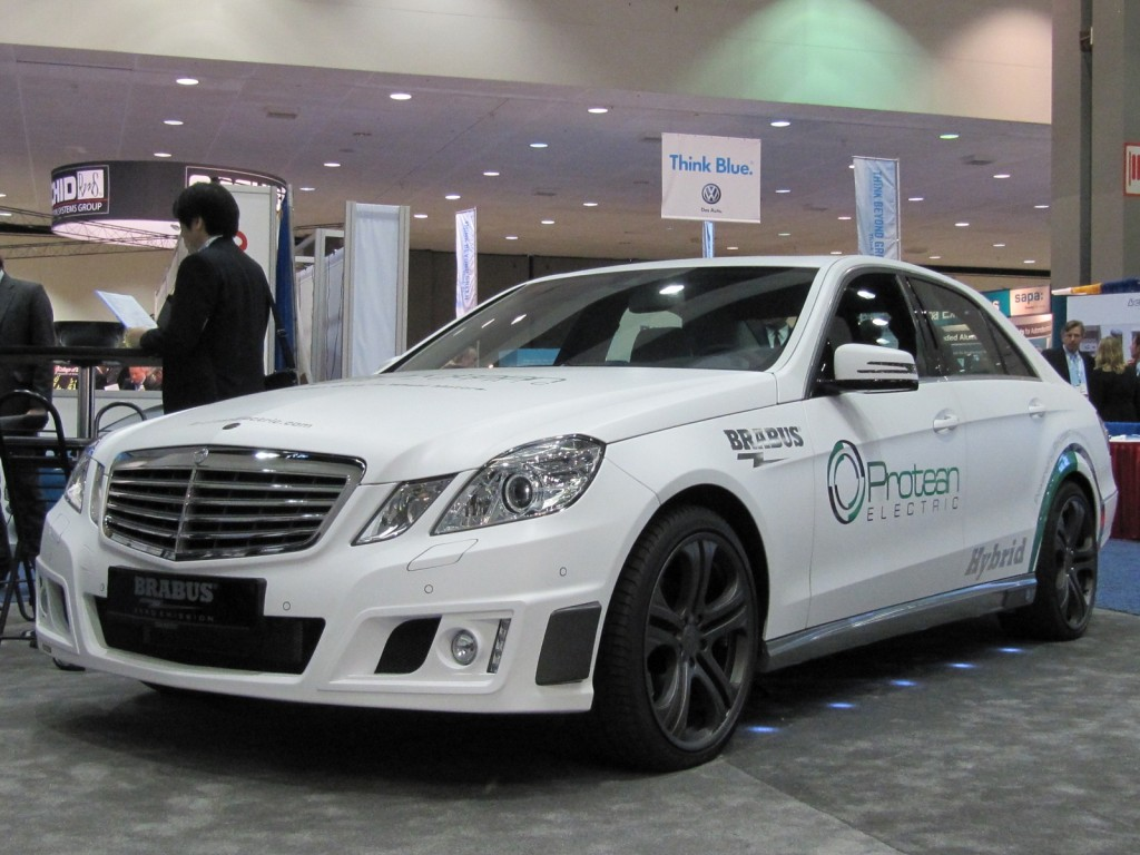 Image brabus hybrid mercedes benz with protean electric for Protean electric motor for sale