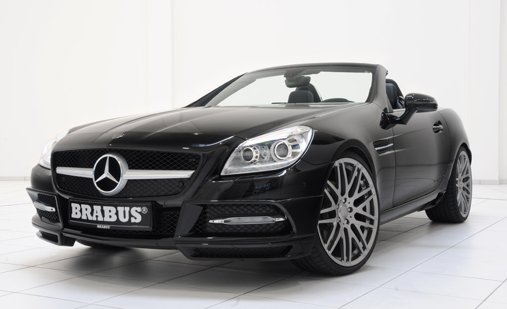 Image brabus mercedes benz slk size 1024 x 625 type for Mercedes benz slk brabus price