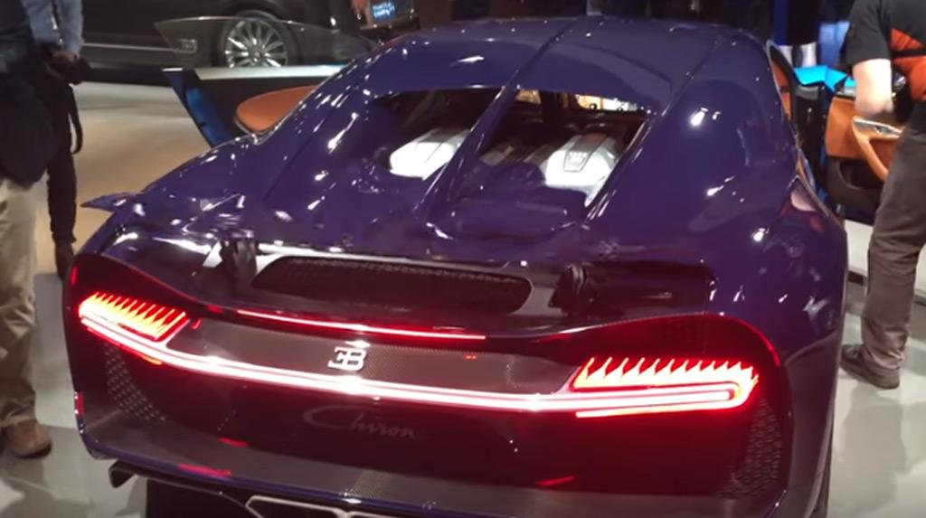 Hear The Bugatti Chiron S 8 0 Liter W 16 Engine Roar Video