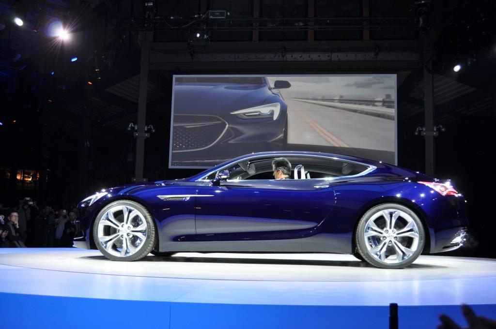 Image: Buick Avista Concept, 2016 Detroit Auto Show, Size