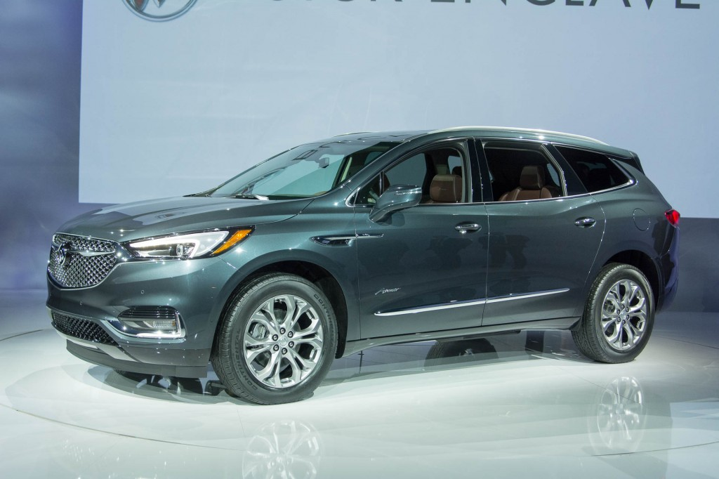 Image: 2018 Buick Enclave Avenir, 2017 New York auto show, size: 1024 x 682, type: gif, posted ...