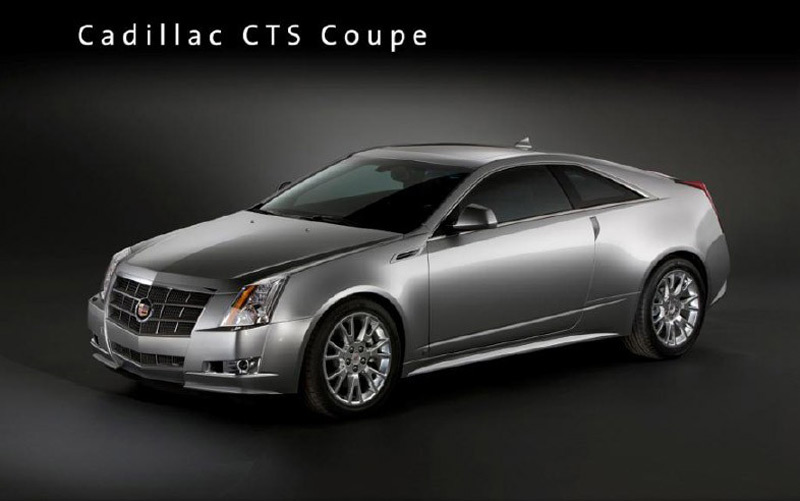 2011 Cadillac CTS Coupe Comes Next May