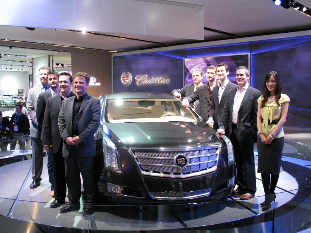 Cadillac XTS Platinum Concept design team