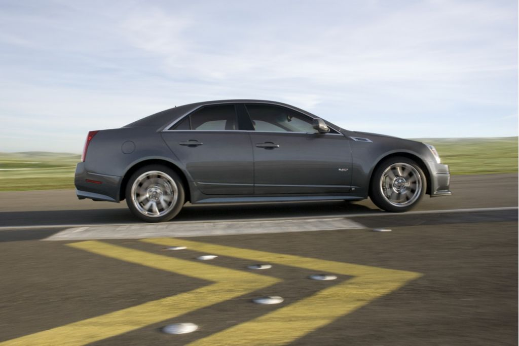 2009 Cadillac CTS-V: What's Inside Counts
