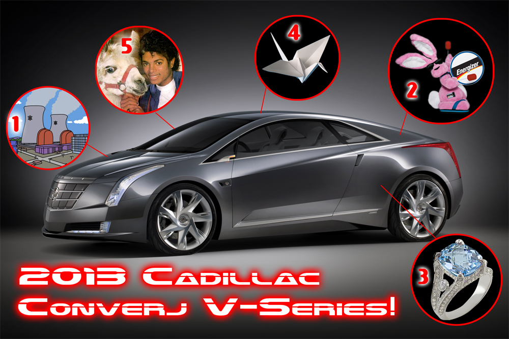2013 Cadillac Converj V-Series