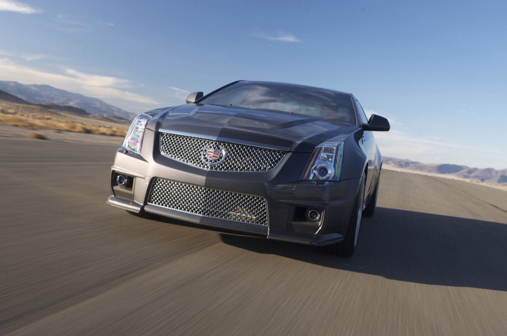 2011 Cadillac CTS-V Coupe Preview