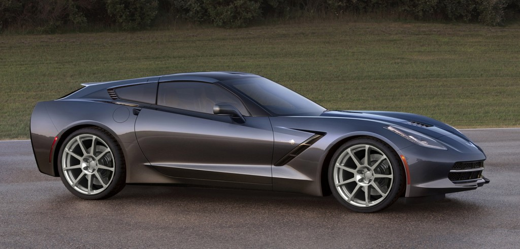 Callaway C21 AeroWagon shooting brake based on the 2014 Chevrolet Corvette Stingray