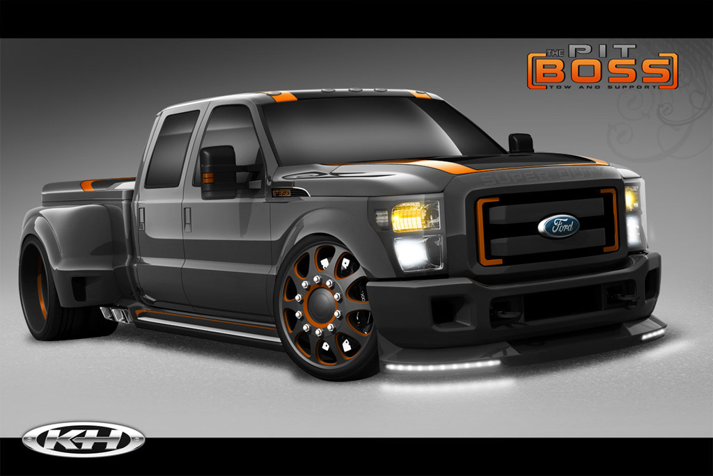 Cars by Kris and Airhead Kustoms F-350