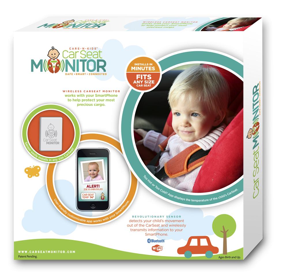 Cars-N-Kids Car Seat Monitor
