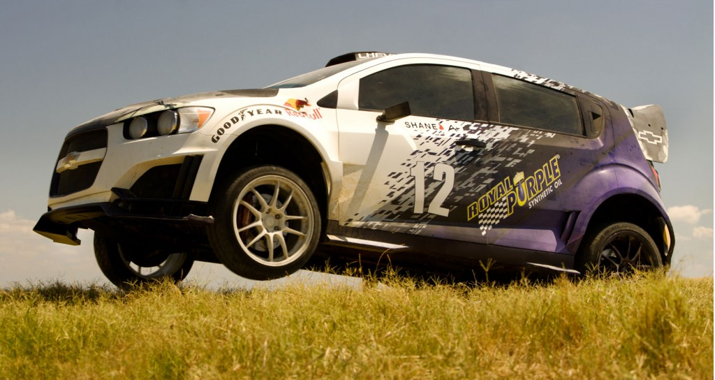 Image Chevrolet Sonic Rs Rally Car On The Set Of