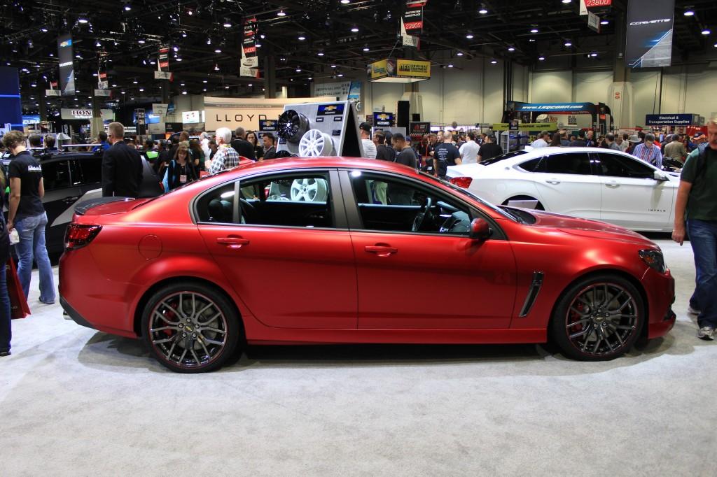 Image: Chevrolet SS Performance Sedan Jeff Gordon Concept ...