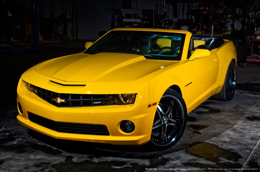 Drop Top Challenger >> Magna To Supply Automated Folding Soft-Top For 2011 Chevrolet Camaro Convertible