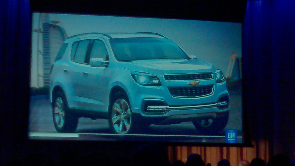 2013 Chevrolet TrailBlazer Concept Breaks Cover