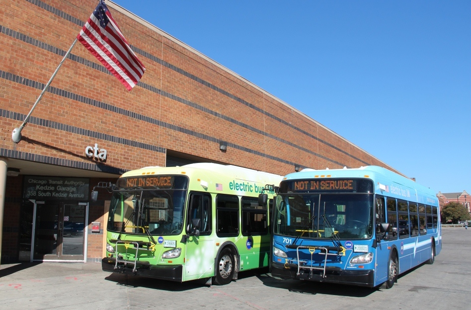chicago transit authority  add dozens  electric buses  successful tests