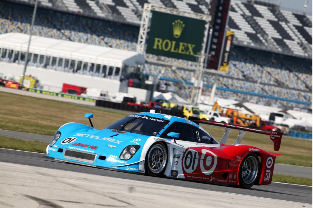 Chip Ganassi Racing's BMW-powered Daytona prototype