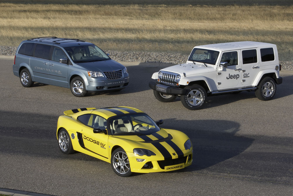 Chrysler EV, Jeep EV and Dodge EV