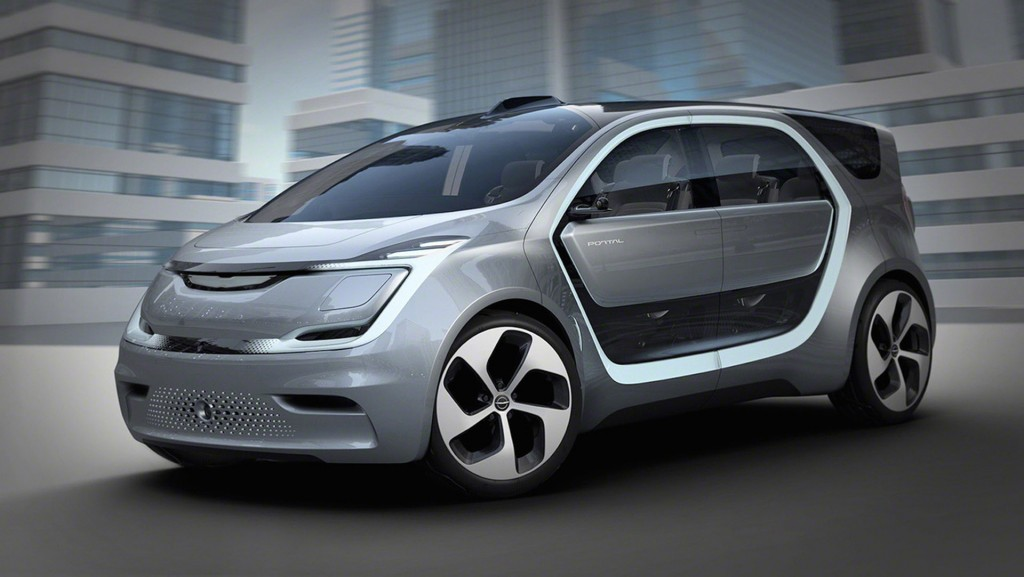 Chrysler's Portal concept is a connected room on wheels
