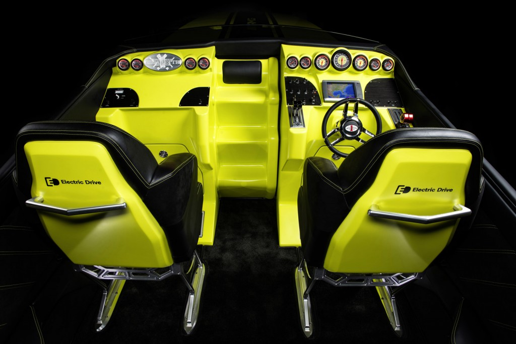 cigarette amg electric drive boat concept inspired by the mercedes benz sls amg electric drive