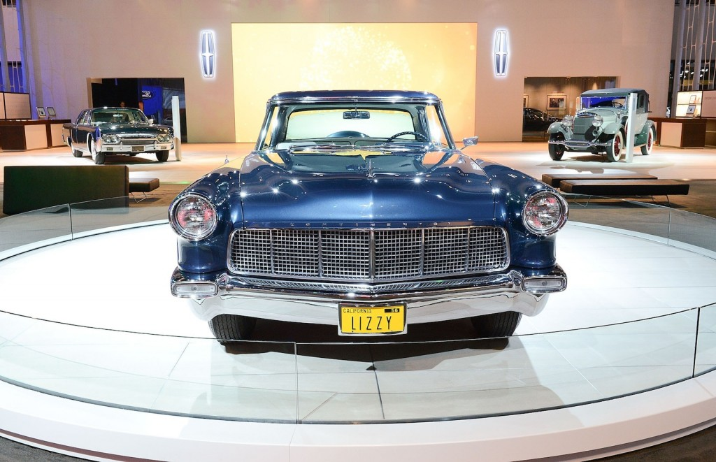 Classic Lincolns on display in Los Angeles - image: Ford Motor Company