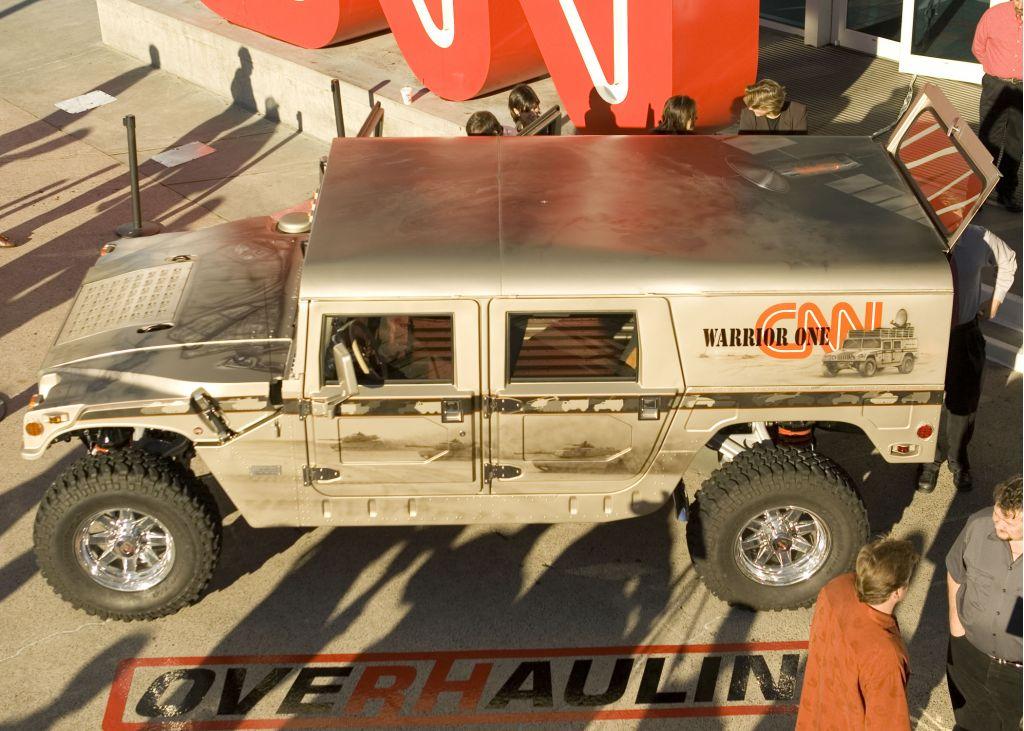 CNN Iraq Hummer