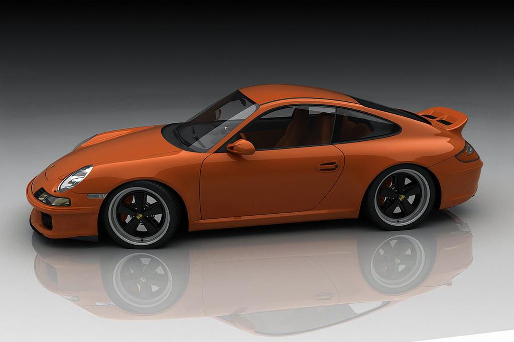 Bo Zolland Imagines A Retro Porsche 911