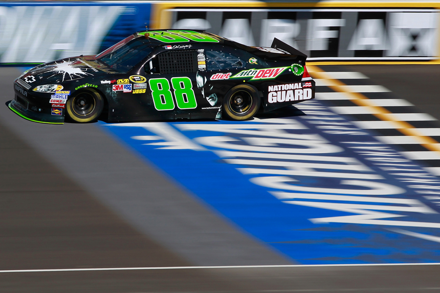 Dale Earnhardt Jr tests at Michigan International Speedway - NASCAR photo