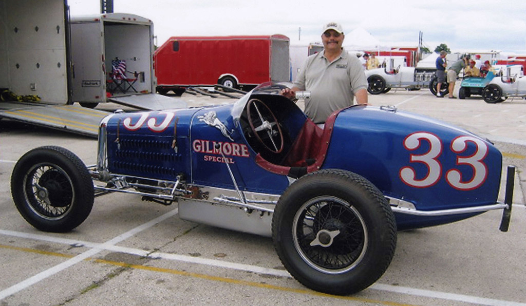 Rare 1935 Gilmore Special Miller Indy Race Car Going At ...