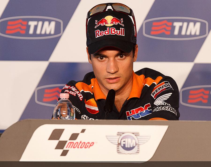 Dani Pedrosa photo courtesy MotoGP