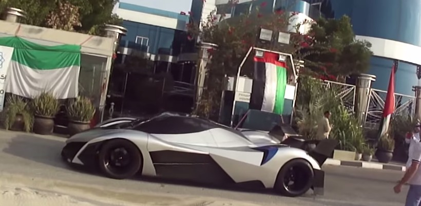 5,000-HP, 348-MPH Devel Sixteen Spotted In The Wild: Video