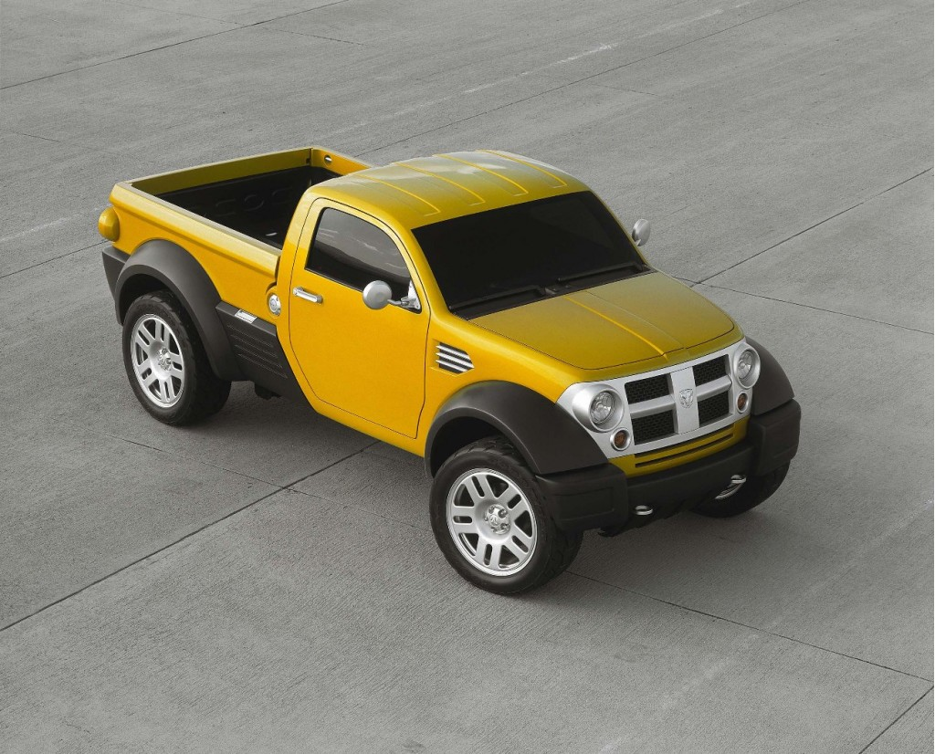 Dodge M80 Concept front - courtesy of Chrysler Media